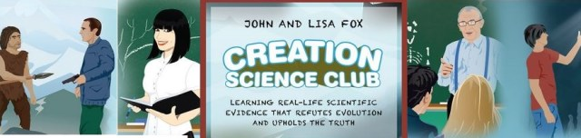 Creation Science Club banner: Affiliate link