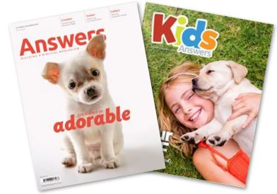 Answers Magazine Cover, affiliate link