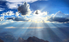 Grand Canyon with Sunbeams, Photo: Nate Loper