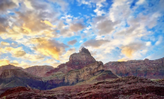 Grand Canyon peak, photo credit: Nate Loper