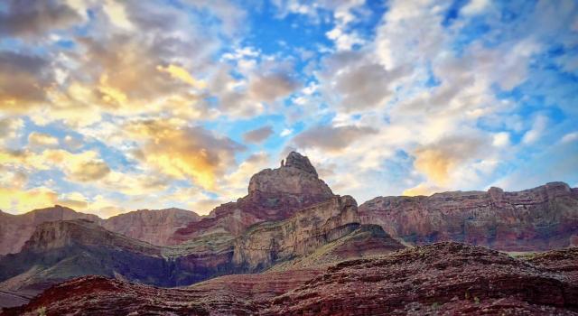 Grand Canyon peak, photo credit: Nate Loper