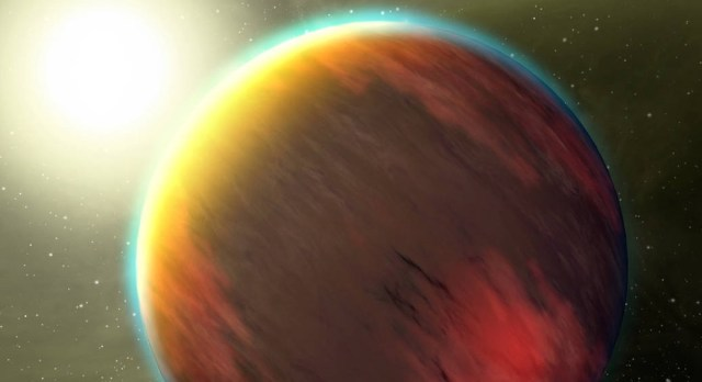 NASA exoplanet artist's conception