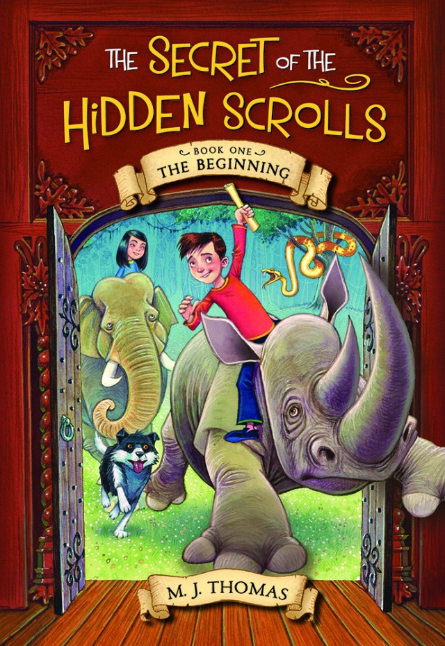 Secret of the Hidden Scrolls the Beginning Publisher's page