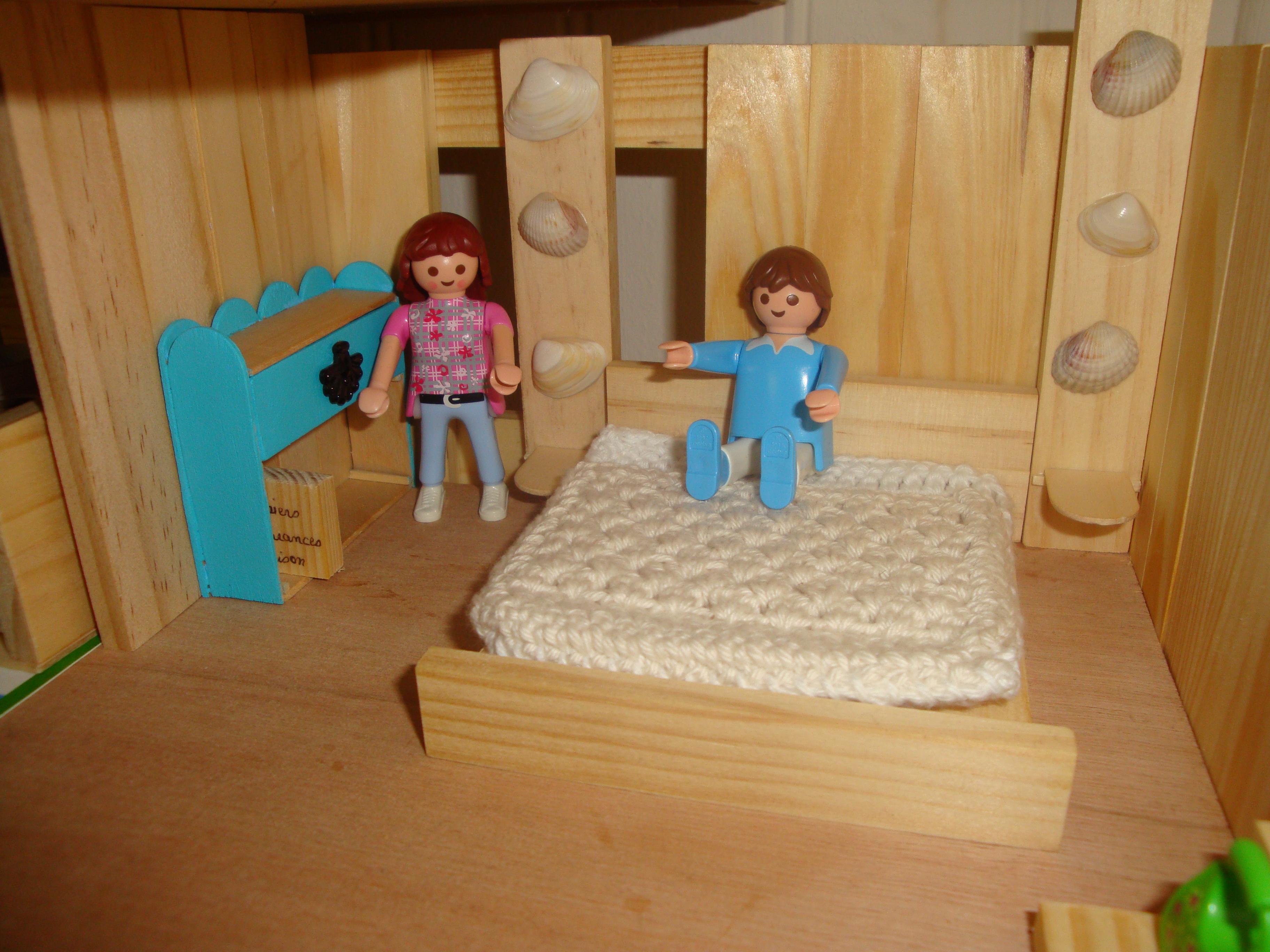 chambre des parents playmobil
