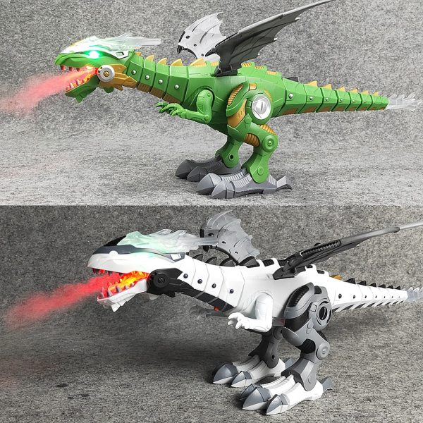 Fire Dragon Electronic Action Toy 3