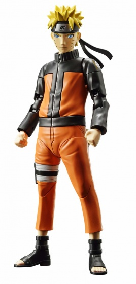 Naruto Shippuden building kit Uzumaki orange/black 2