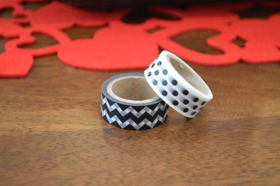 Two styles of washi tape