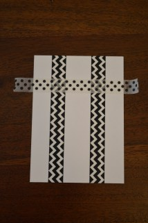 Place tape...