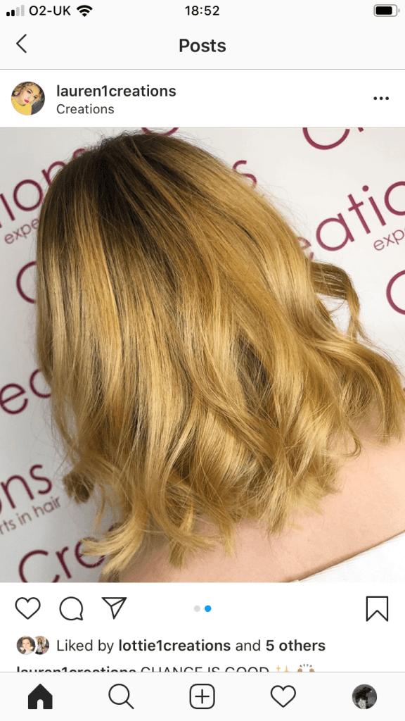 Golden Blonde Hair Highlights