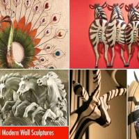 35 Beautiful Wall Sculptures - Metal, Modern and Outdoor Art Sculptures