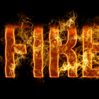 Tutorial photoshop : how to create a Realistic Fire Text Effect