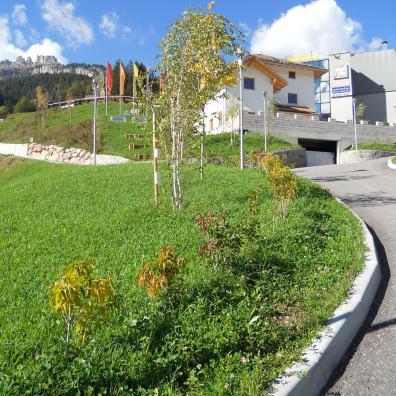 zone verdi impianti Catinaccio di Vigo di Fassa