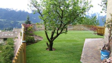 giardino su terra armata