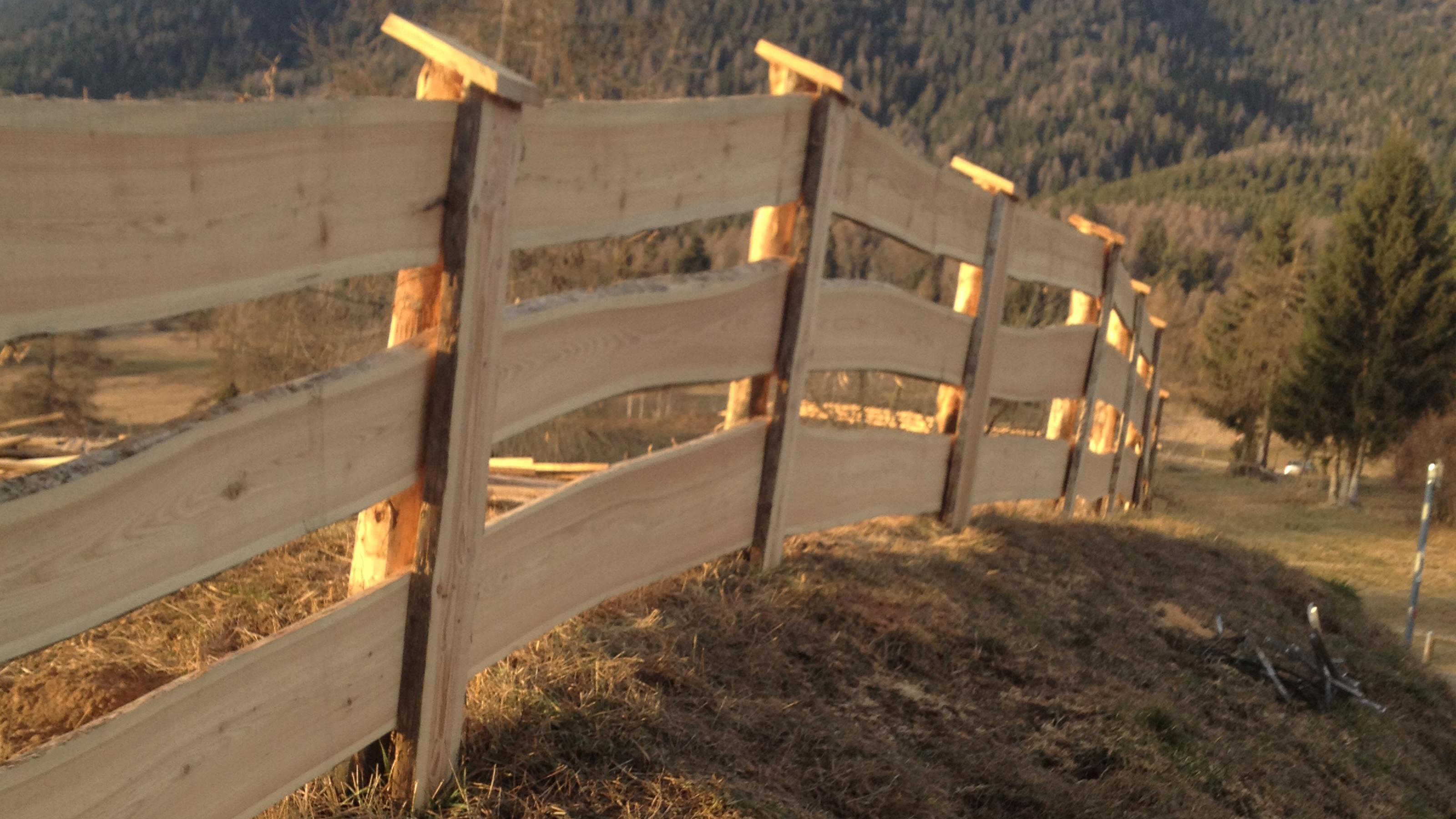 recinzioni in legno