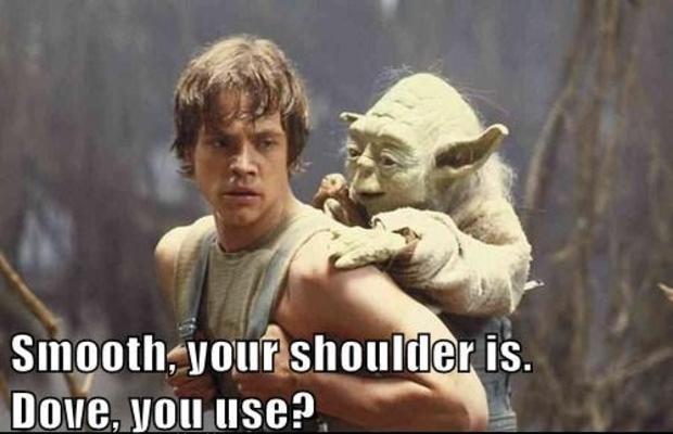 Dove Yoda Internet Meme Creative Ads And More