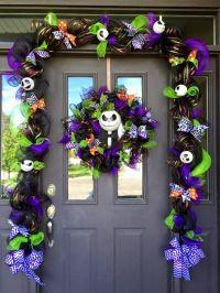 halloween front door decorations | Creative Ads and more