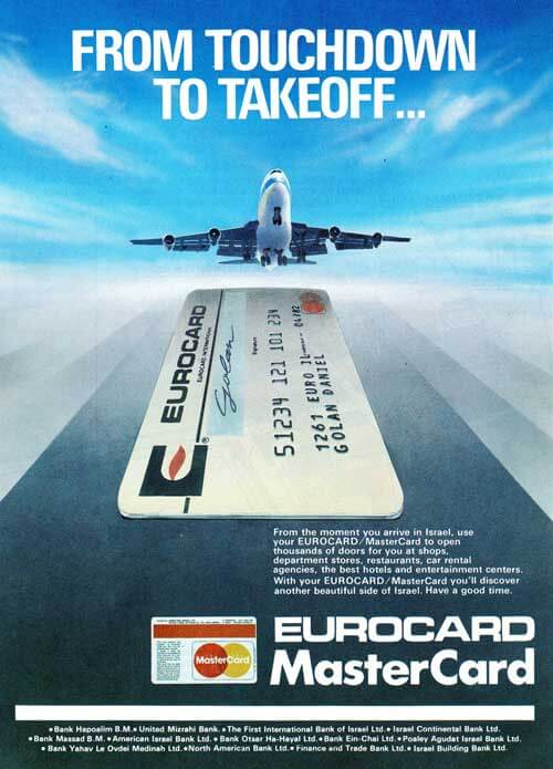 EUROCARD MasterCard Ad 1980 Creative Ads And More