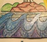 #103 Susan Glitter Pens Waves