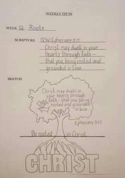 Tip In #12 Tree Sketch