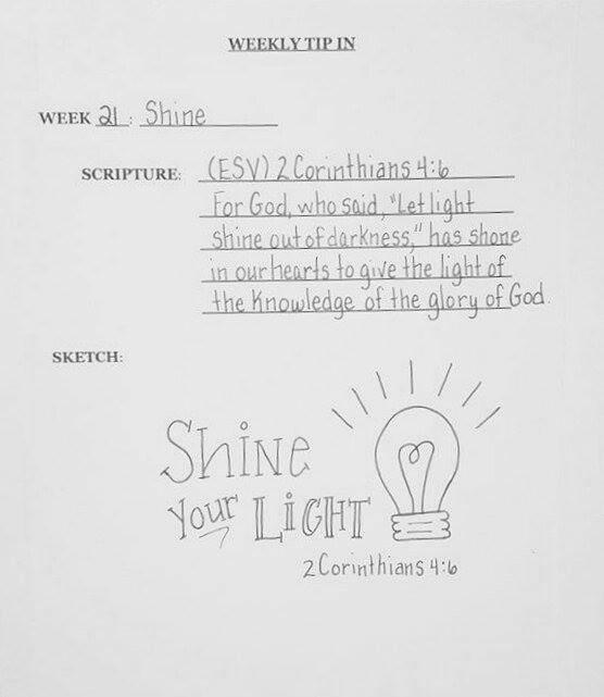 #21 Light Sketch