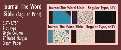 Journal The Word, NIV nKJV