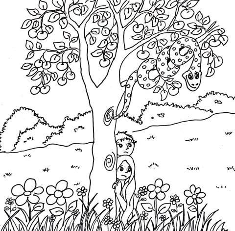 """Kids Club #3, """"Adam & Eve"""""""