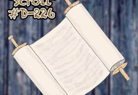 #D-226 Scroll Square