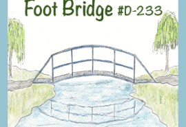 #D-233 Foot Bridge