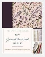 Journal The Word NIV, Regular Type, Plum