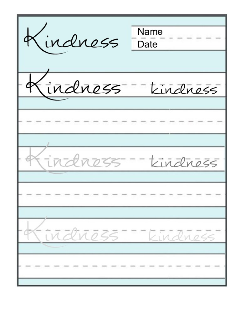 Kindness LINED PAPER jpg