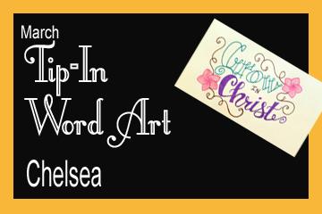 March Banner Tip In Word Art jpg