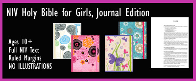 NIV Holy Bible for Girls, Journal Edition jpg