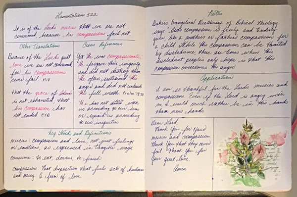 September 2019 – Verse Mapping – Creative-Bible-Journaling