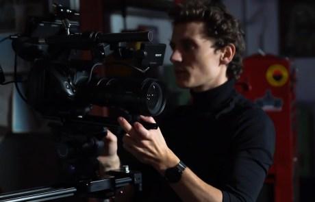 Film Kamera groß