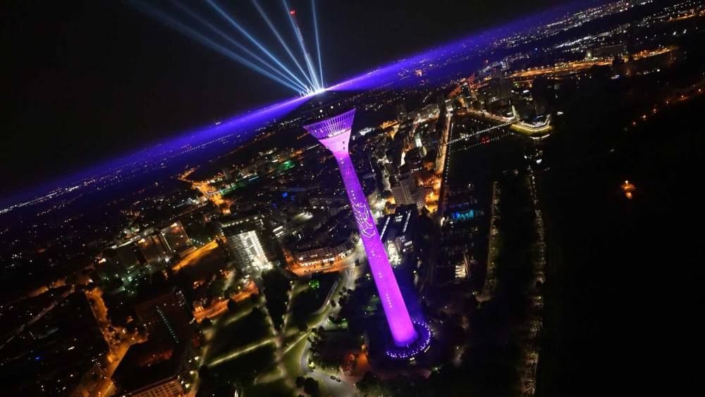 Rheinturm Telekom 5G