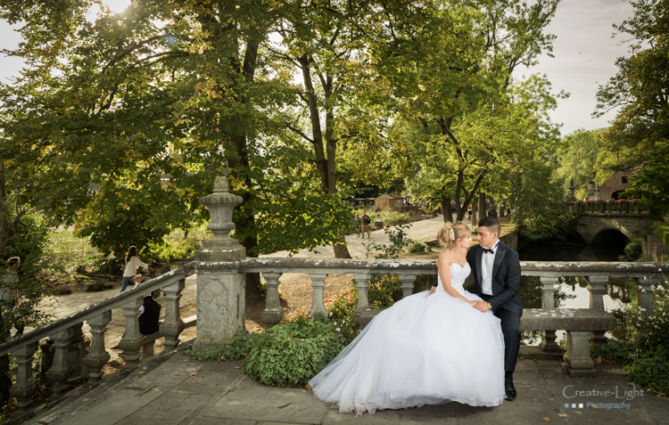Creative-light photographe Belgique Tibeau Sebastien session après marriage day after session pairi Daiza Brugelette