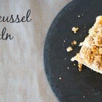Gebacken: Apfel-Streussel mit Mandeln