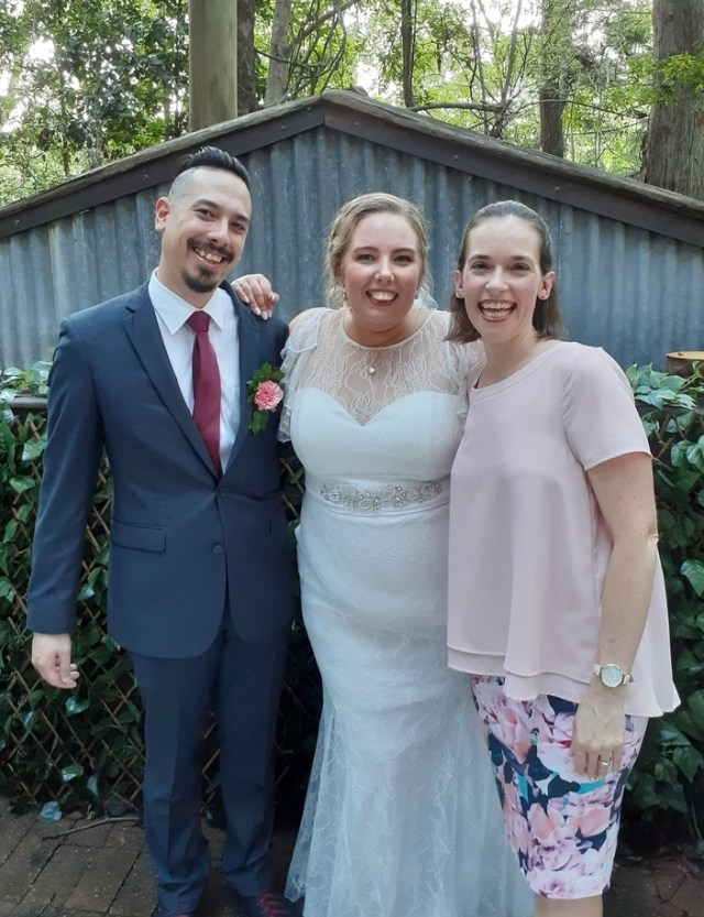Brisbane Celebrant delivering fun ceremony