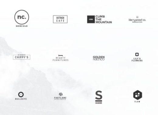 25 free minimal logo templates