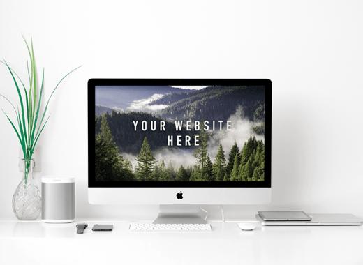 Apple iMac Mockup