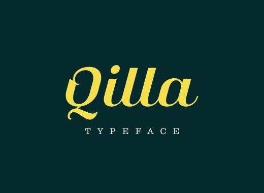 qilla free font