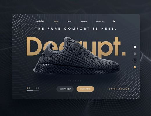 Free Sport Shoes PSD Template