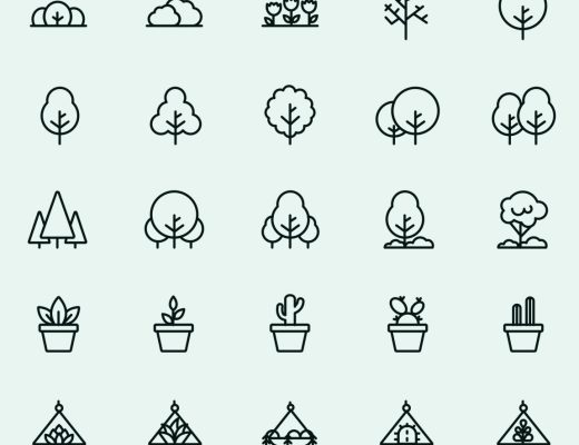 25 Plant Vector Icons
