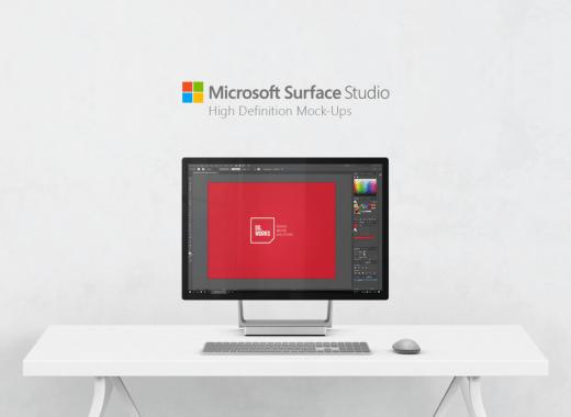 Microsoft Surface Mockup