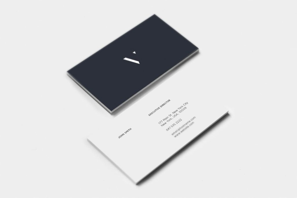 minimal business card design inspiration