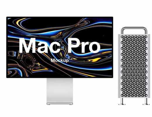 2019 iMac Pro Mockup