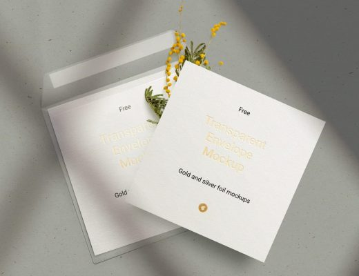 Free Envelope & Card Mockup