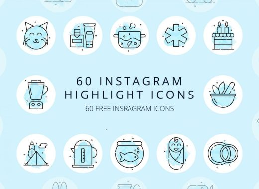 60 Instagram Highlight Icons
