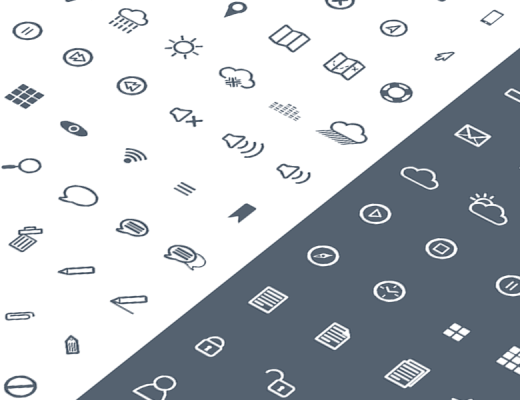 free line icons pack
