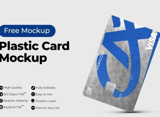 Plastic-Card-Mockup